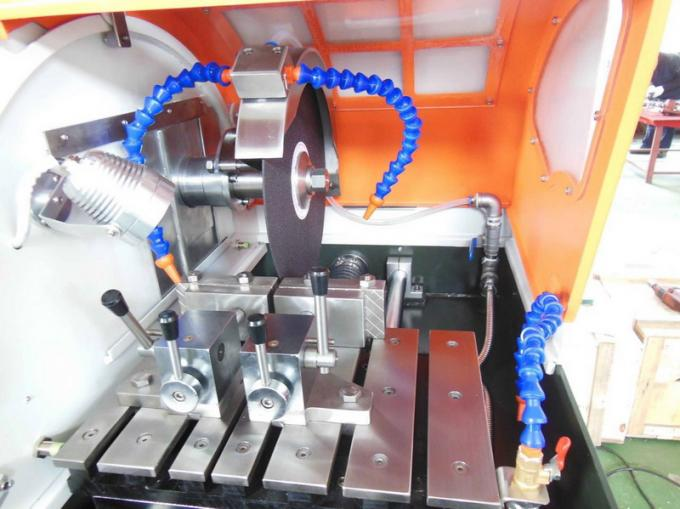 Max Section 65mm Automatic Metallographic Sample Cutting Machine With Coolant Tank