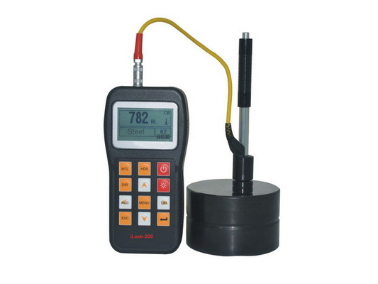 Economical Leeb Portable Metal Hardness Tester Back - Light LCD With D Impact Device