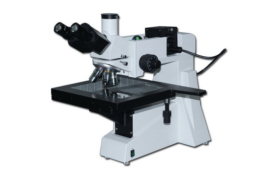 Achromatic Objective Polarizer Reflected Trinocular Metallurgical Microscope with Halogen Lamp