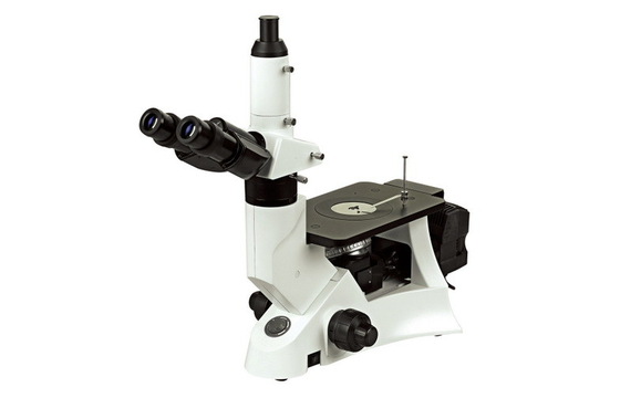100X Dry Objective Digital Inverted Metallurgical Microscope with Infinity Optical System