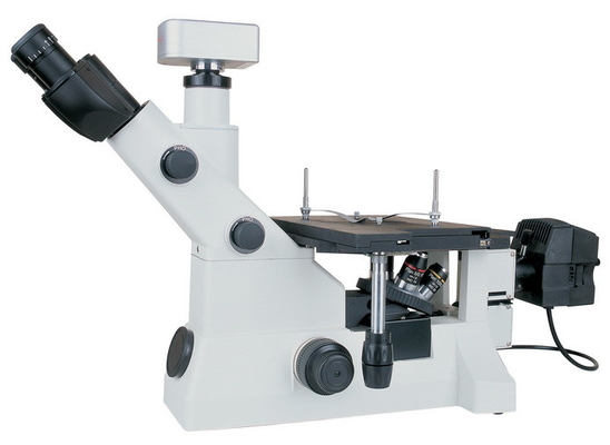 China Inverted Trinocular Digital Metallurgical Microscope With Infinity Optical System And BD Field supplier