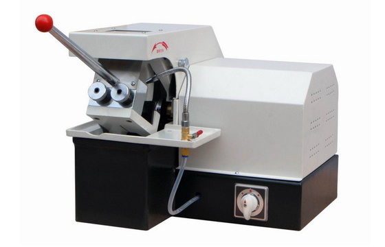 Manual Metallographic Specimen Cutting Machine Max Cut Diameter 50mm with Water Cooling