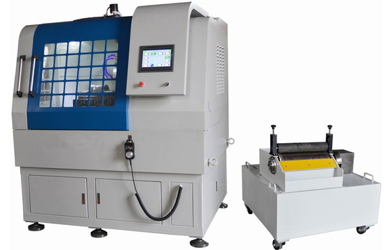 China Automatic Large Capacity Metallographic Sample Cutting Machine Max Cut Section 300x150 mm supplier