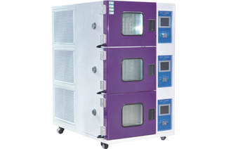 Three Layers Programmable Temperature Humidity Alternative Test Chamber