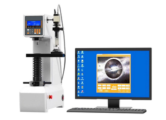 China LCD Electronic Brinell Hardness Tester with CCD Measuring System and Software supplier