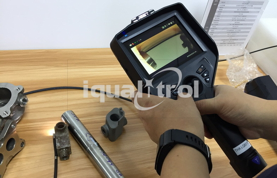 "Tube Dia. 6mm 3.5"" HD Monitor Industrial Borescope Videoscope for Inspection Turbine Blades"