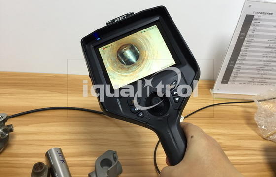 Building Block Design Industrial Video Borescope with Mega Pixel Camera Touch Screen Android OS