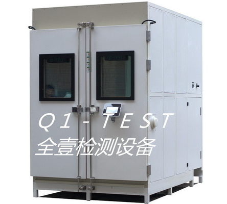Walk in Cyclic Corrosion Salt Spray Test Chamber for Car Components and Outdoors LED