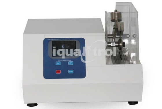Precision Abrasive Cutter with Speed Range 10-600rpm for Fragile Artificial Crystal