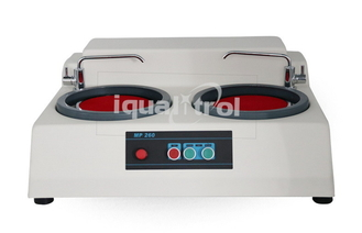 Water Cooling 2 Disc Metallographic Grinding and Polishing Machine with Two Speeds