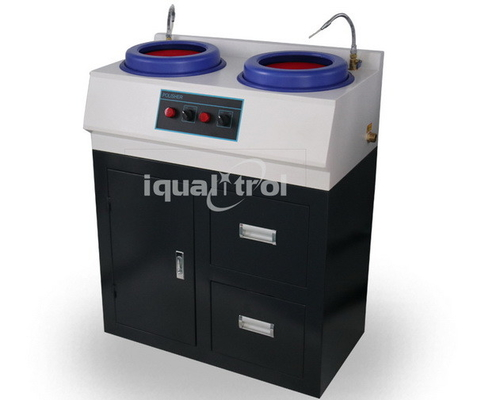 Fixed Speed 1400rpm Water Cooling Metallographic Polishing Machine with Cabinet