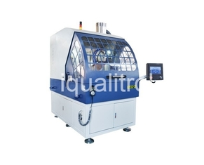 Automatic Large Capacity Metallographic Sample Cutting Machine Max Cut Section 300x150 mm