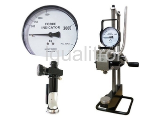 Hydraulic Portable Brinell Hardness Tester with Max Vertical Height 320mm Test Force 3000Kgf
