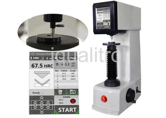 China Automatic Rockwell Hardness Testing Machine Twin Electronic Hardness Tester with Touch Screen supplier