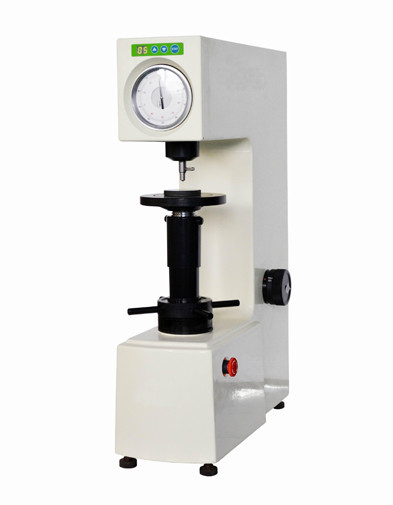 China Motorized Loading Rockwell Hardness Testing Machine with 0.5HR Resolution supplier