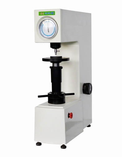 China Dial Gauge Superficial Rockwell Hardness Testing Machine With Adjustable Dwell Time supplier